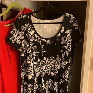 Avenue fir & flare dress 18/20 - like new